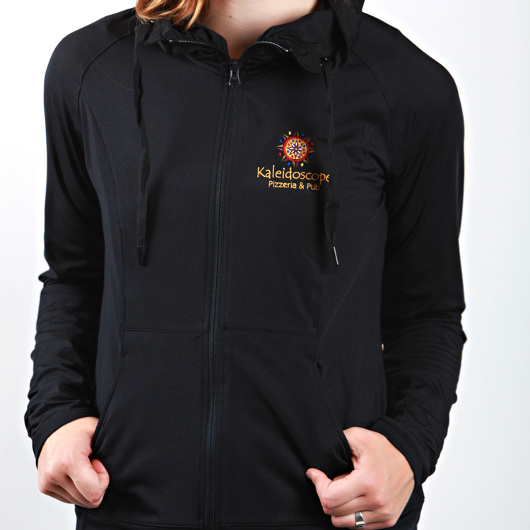 Women's Zip Up – Black (S/M/L)