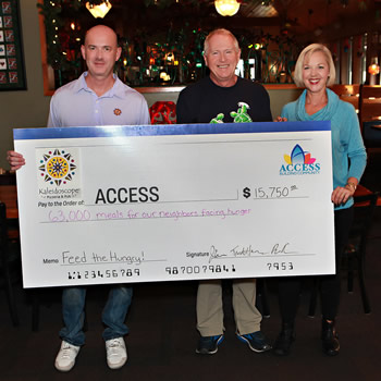Access check to Feed the Hungry