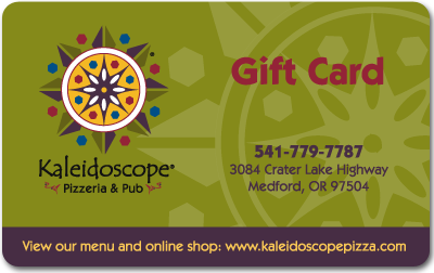 Kaleidoscope Pizza Gift Card