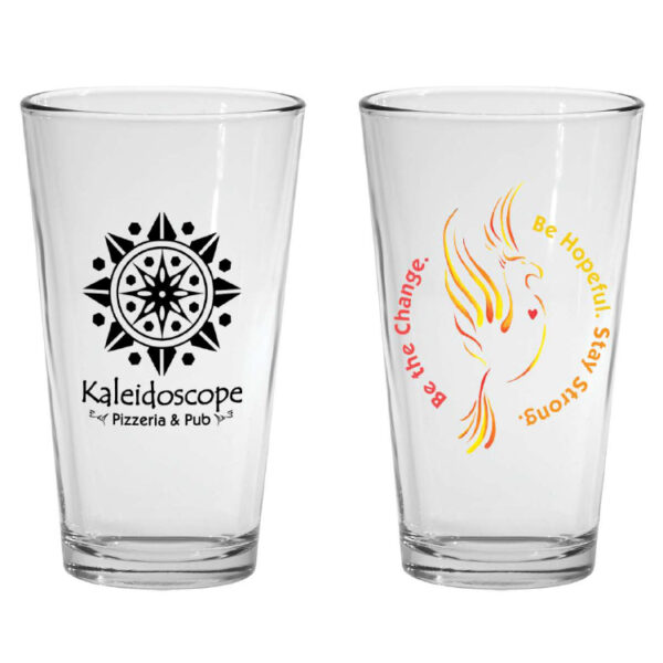 Fire Relief Pint Glass